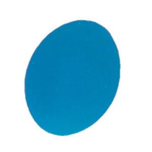 L 0300F Мяч для тренировки кисти яйцевидной формы жесткий синий