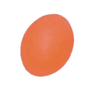L 0300S Мяч для тренировки кисти яйцевидной формы мягкий оранжевый