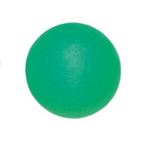 L 0350M Мяч для тренировки кисти 50 мм полужесткий зеленый