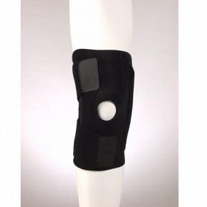 F 1281 Ортез коленного сустава разъемный с пластинами черный