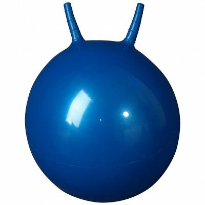 L 2355b Гимнастический мяч 55см (в коробке с насосом) синий