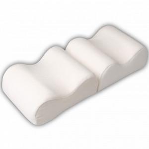 F 8027 Подушка ортопед. под ноги для профилактики и лечения варикоз.болезни (26*20*10*2)