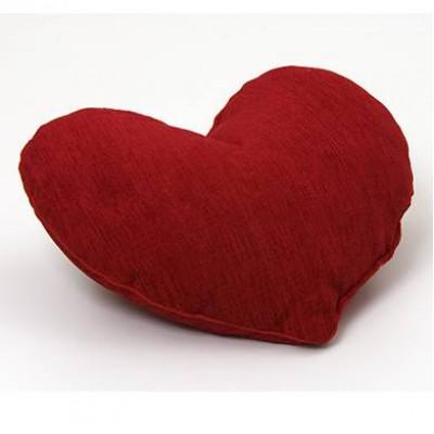 Подушка из лузги гречихи Лика Сердце 25х30 см