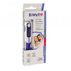 Термометр электрический WT-04 standart, от 30 сек., гибкий, влагозащитный