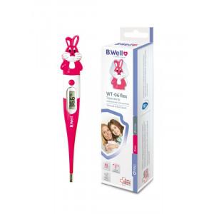 Термометр электрический WT-06 flex, детский от 10 сек., гибкий, влагозащитный (Кролик)