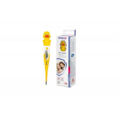 Термометр электрический WT-06 flex, детский от 10 сек., гибкий, влагозащитный (Утенок)