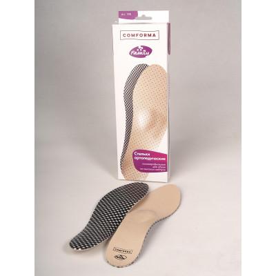 С 19К Стельки ортопедические полнопрофильные для обуви на высоком каблуке COMFORMA FAMILY