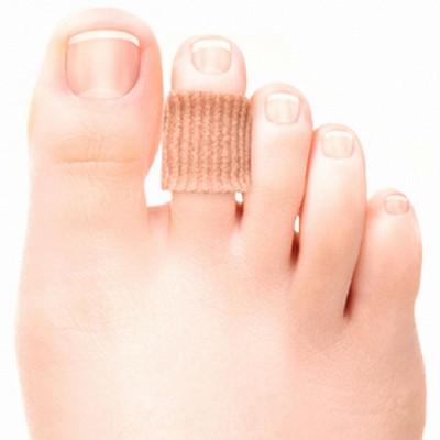 С 2707 Силиконовый протектор для пальцев стопы на тканевой основе Case Soft