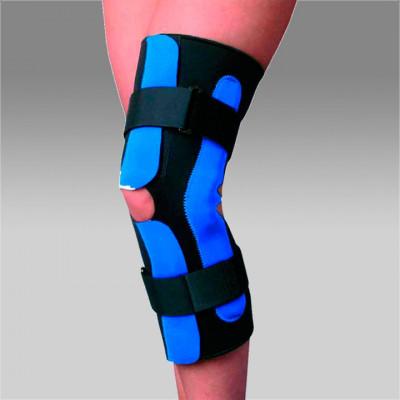 FL 1293 Ортез коленного сустава разъемный с полицентрическими шарнирами удлиненный